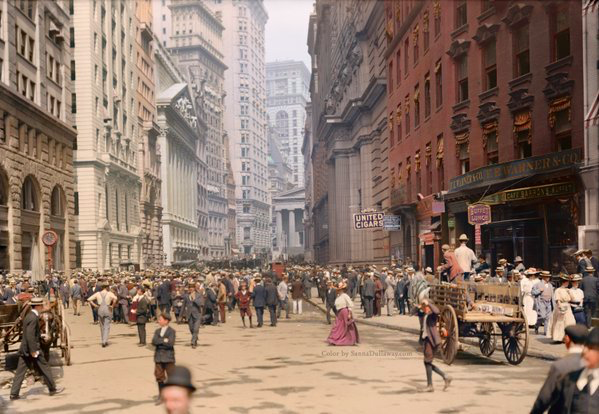 New York City - Early 1900s (Colorized) ( Photo: History in Pictures )
