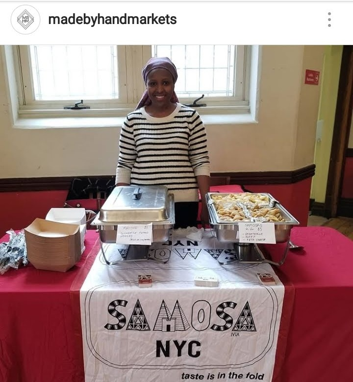 Madebyhandsmarkets    was our first market <3. The founder Mrs. Monifa Kincaid was very supportive.