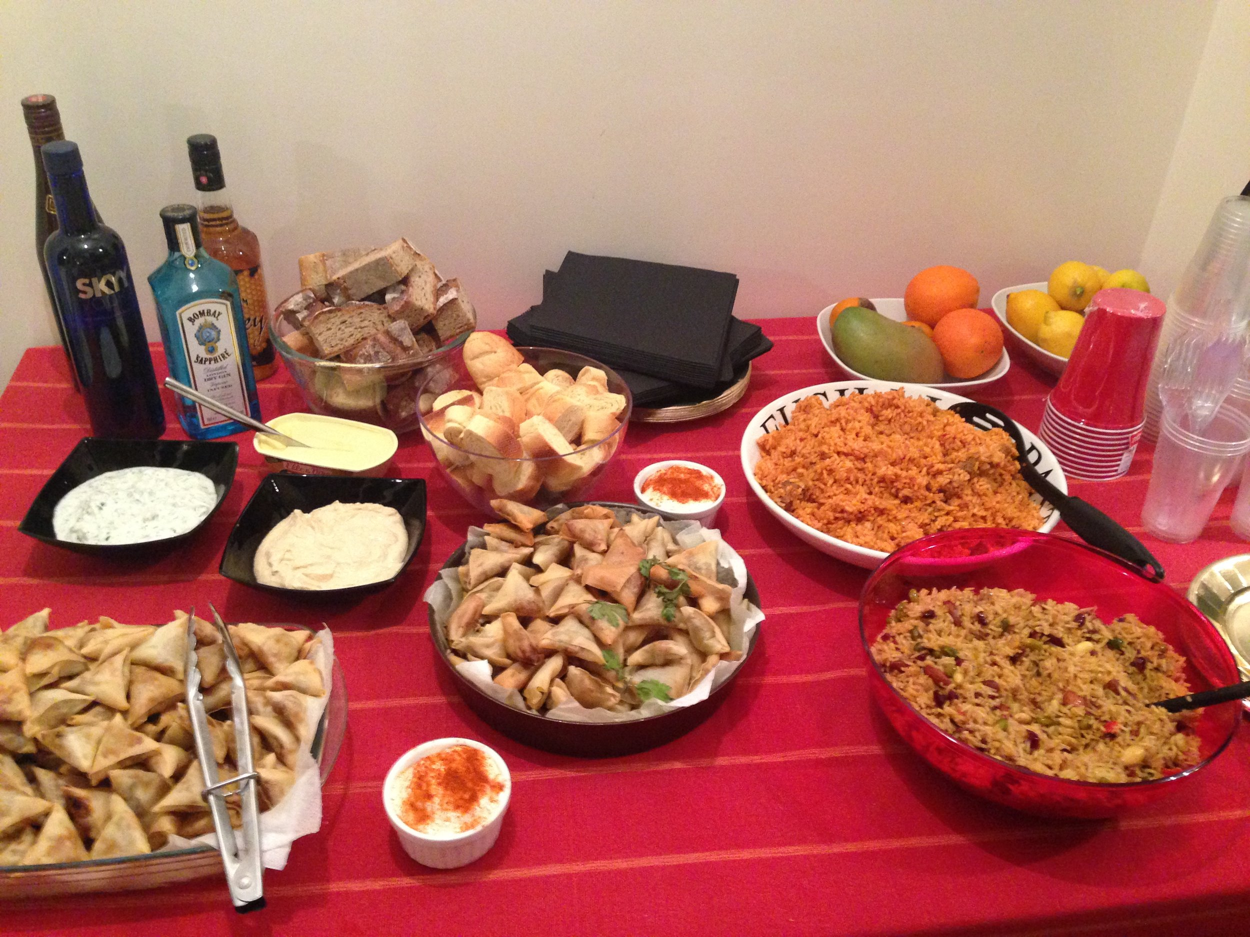 Party Catering in Geneva, Switzerland, 2o13