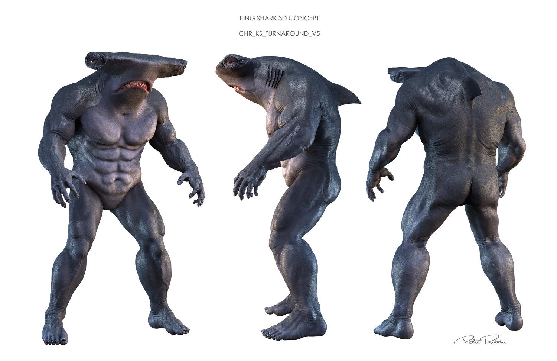 Tubarão-Rei; O Esquadrão Suicida; Nanaue