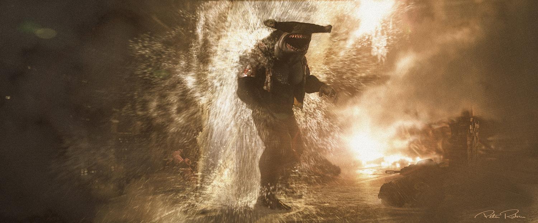 Tubarão-Rei; O Esquadrão Suicida