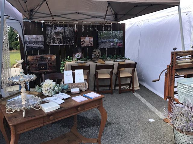 Come check out our booth at Cambridge Square today! If you're planning a wedding or wanting to throw a party, we are having a drawing, if you come and write your name and number/email you can get either 10% off a wedding booking or $50 off a party!! ❤️