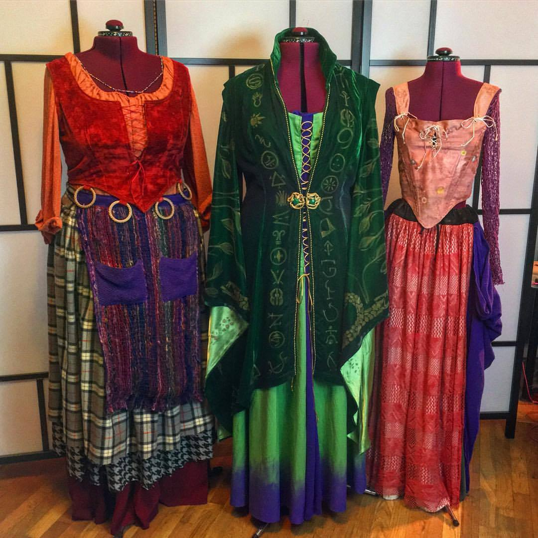 Mary, Winnie, and Sarah Sanderson; Hocus Pocus