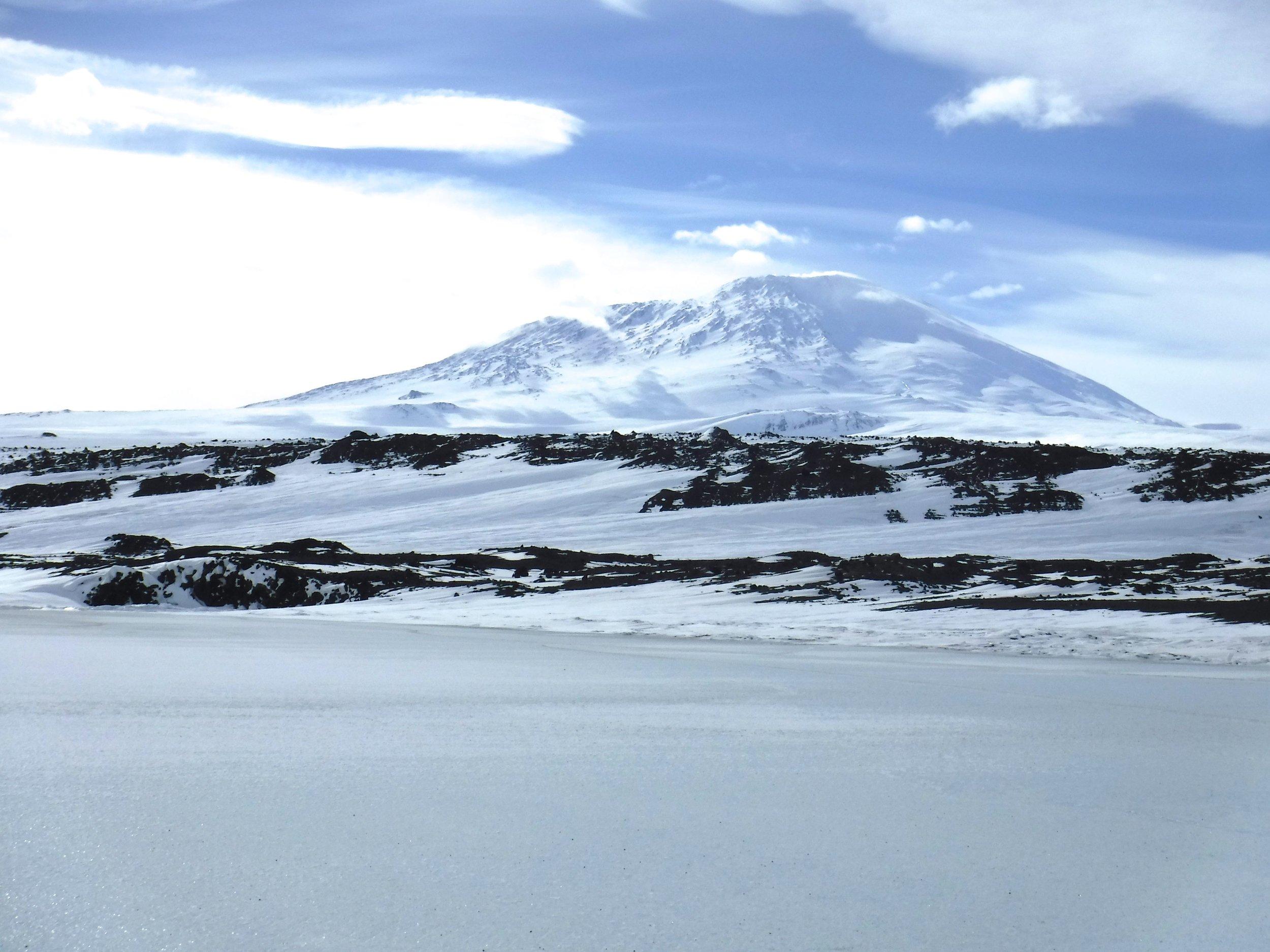 Mt Erebus.