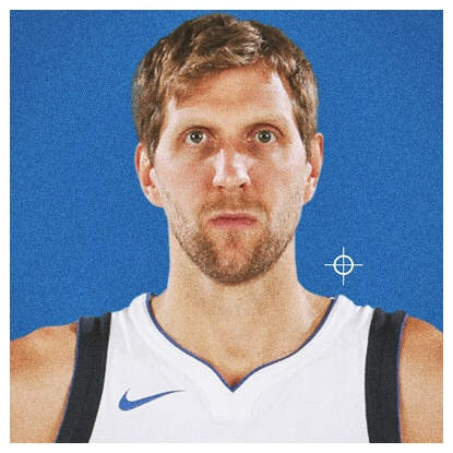 #41•D. NOWITZKI - F/C • 7'0, 245 lbs; 21st! year, Germany