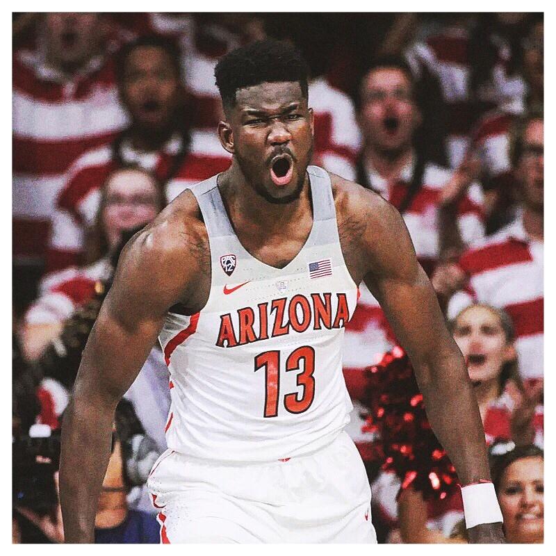 DEANDRE AYTON - C•7'1, 250•Arizona•Freshman