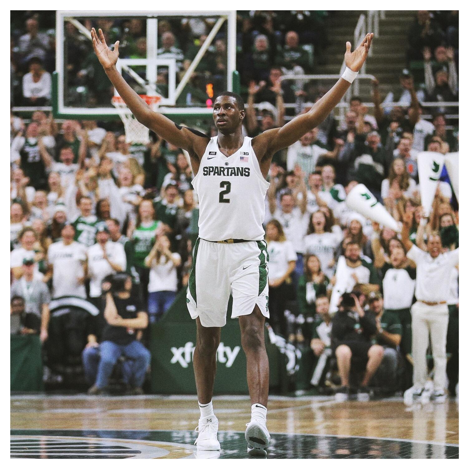 JAREN JACKSON JR. - PF•6'10, 225•Michigan State•Freshman