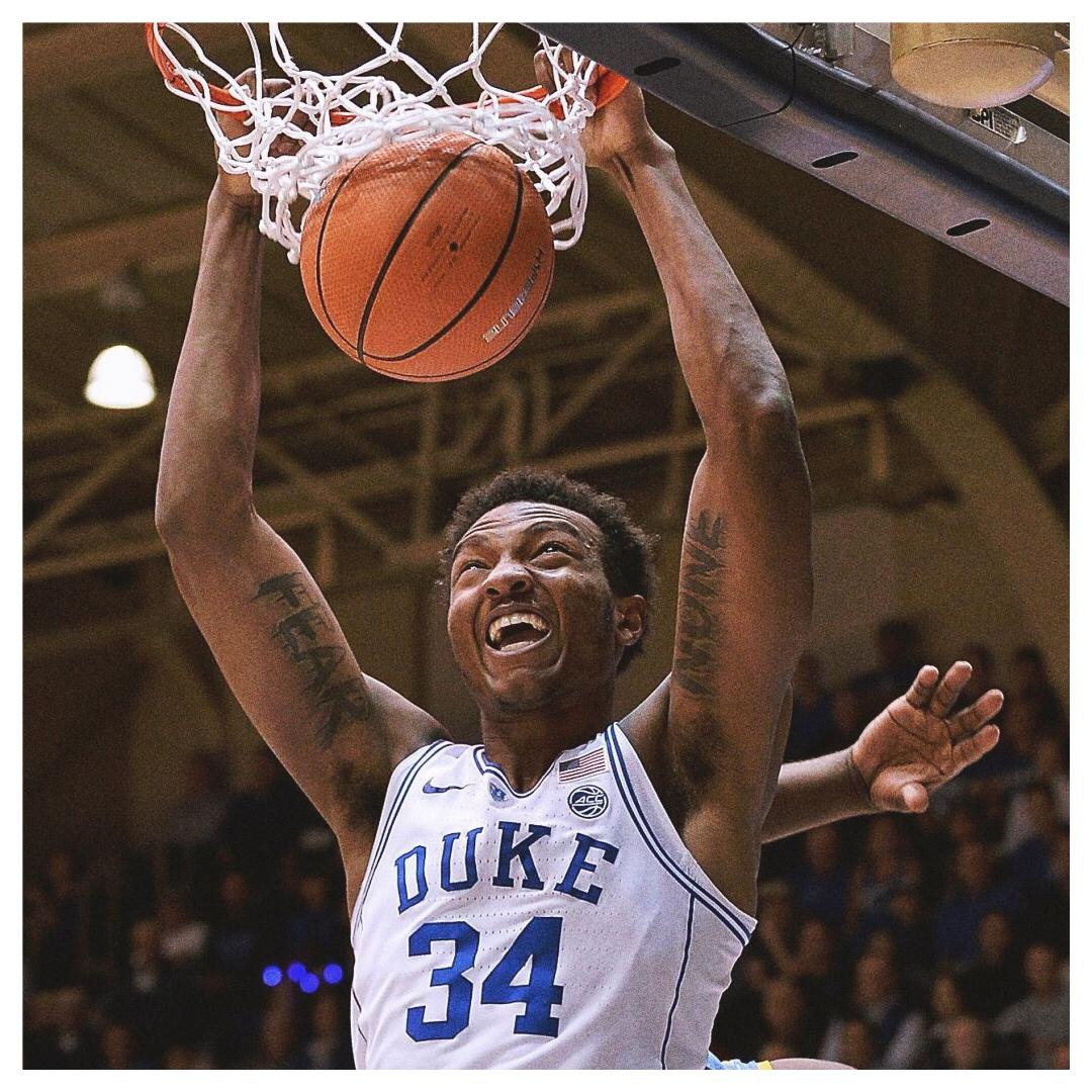 WENDELL CARTER JR. - 6'11, 257•Duke•Freshman