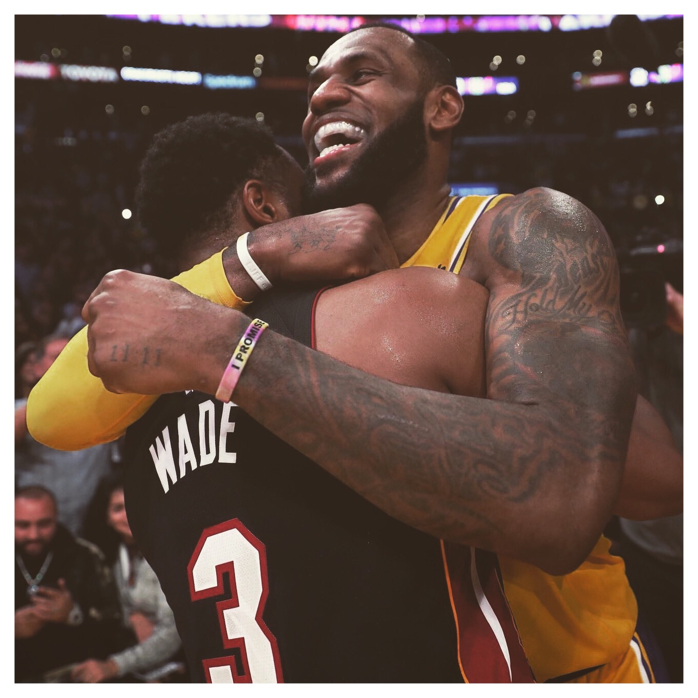 DWYANE WADE & LEBRON JAMES - FINAL MEETING BETWEEN THE TWO!