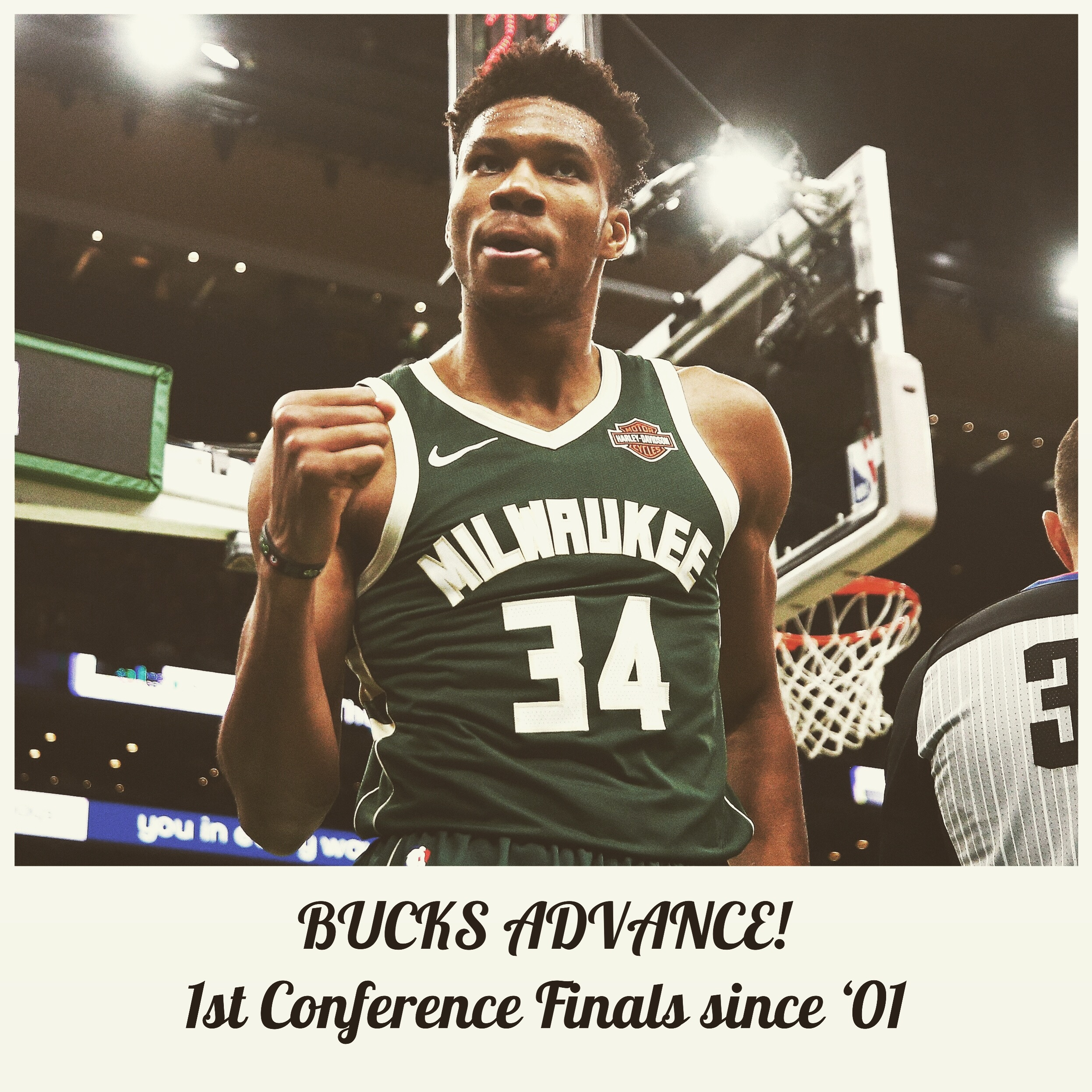Giannis: 1st Conference Finals!