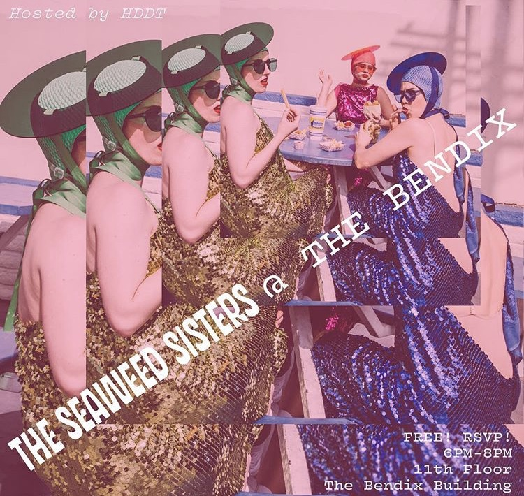 Heidi Duckler Dance Theatre hosts the Seaweed Sisters for an evening of play, dance and conversation.