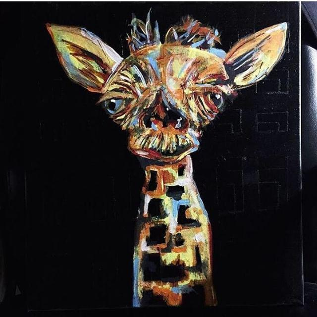 """Herbert"" Acrylic on canvas"