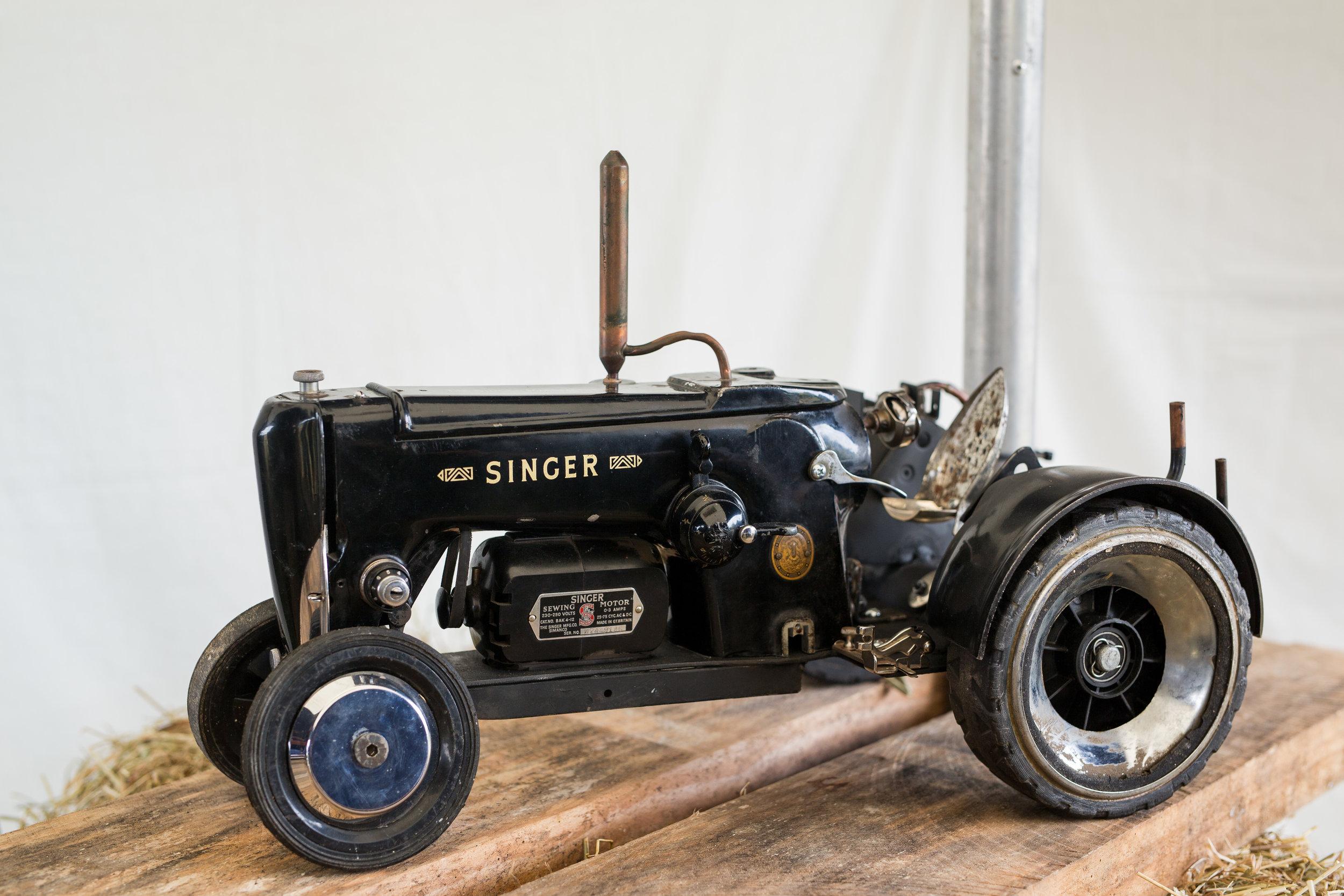 Singer Tractor