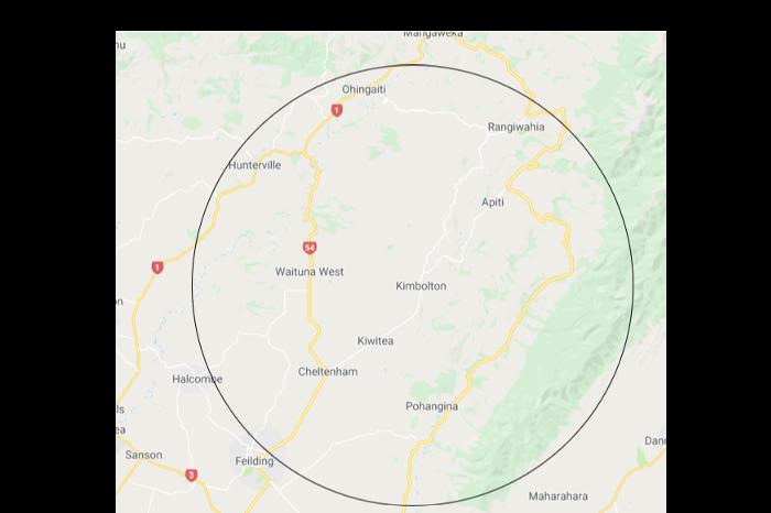 25km Local radius