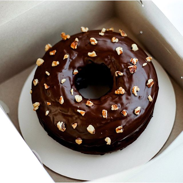 Just a reminder: Don't forget to enter our doughnut cake giveaway. You still have until 11:59 pm tomorrow night before we stop accepting new entries. The winner will be chosen at random and then notified in the coming days (we'll reach out to you, and we'll also be making a public announcement). Remember that you must carefully follow all the steps listed on our post to qualify for our contest. (If you need help locating the original post, refer to the included screenshot ➡️) Have a great weekend!