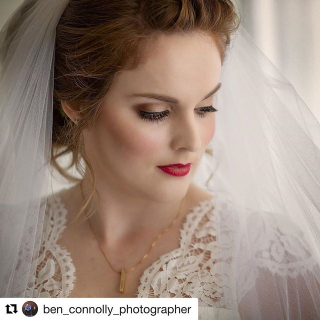 Thank you @ben_connolly_photographer for capturing perfection ❤️ we loved Chelsea's whimsical look  Hair & makeup @the.stylist.collective  #sunshinecoastbrides #cinderellabride #weddingsmooloolaba #sunshinecoastweddinghairdresser #sunshinecoastweddingmakeup #redlips #taylorswiftlips