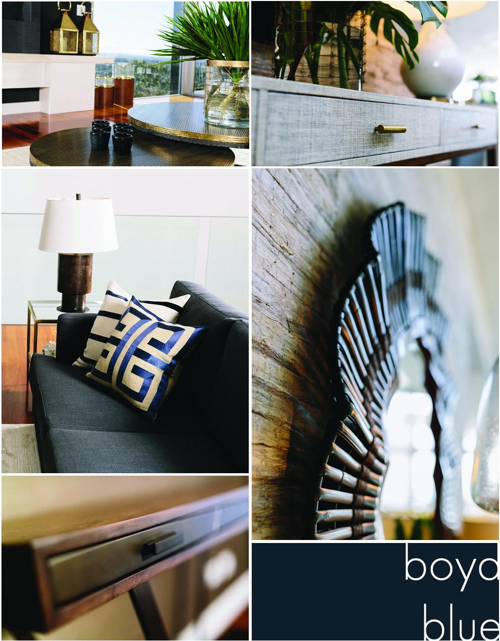 Boyd Blue Work Collage