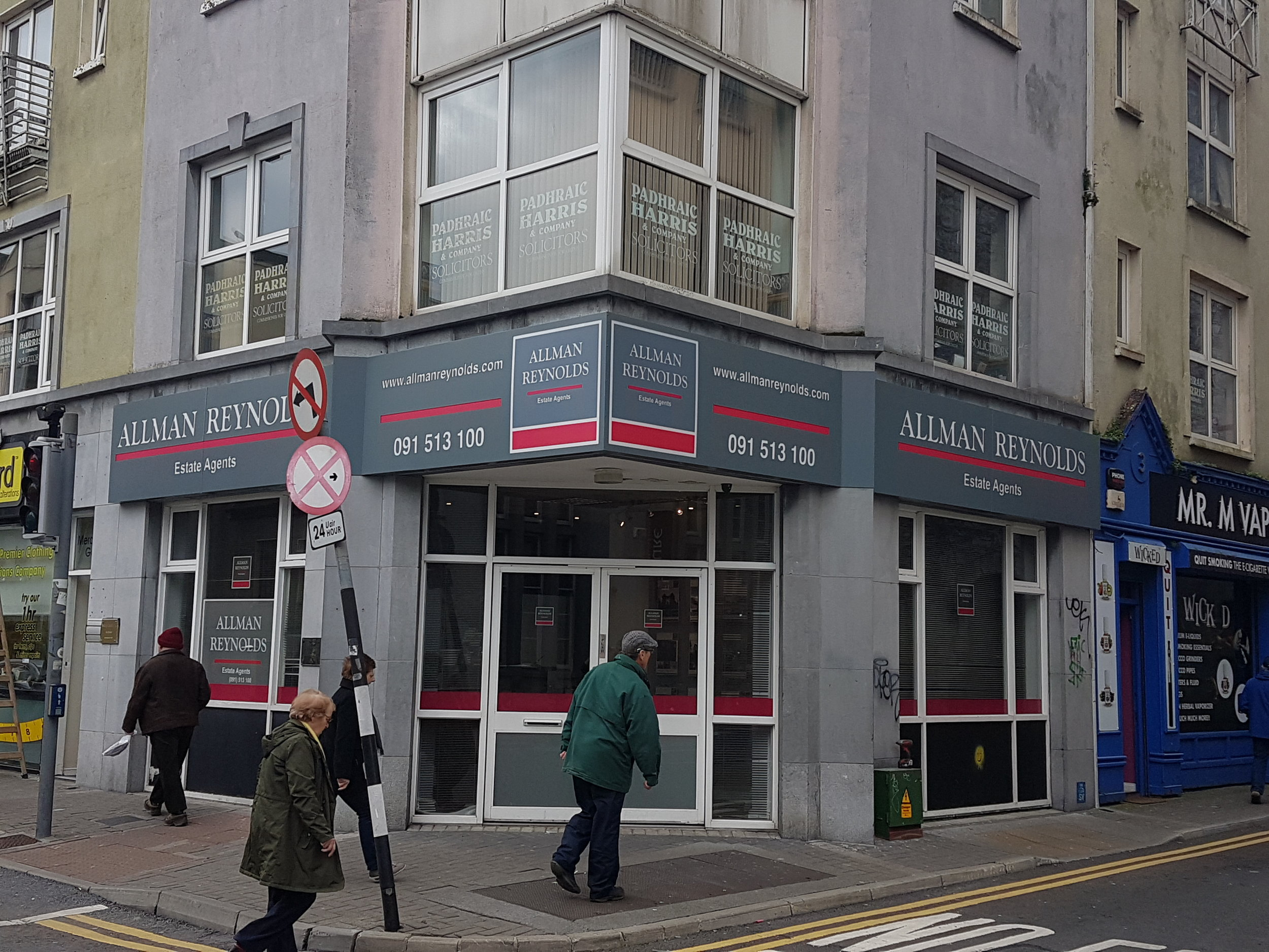 Allman Reynolds, Merchants Rd, Galway