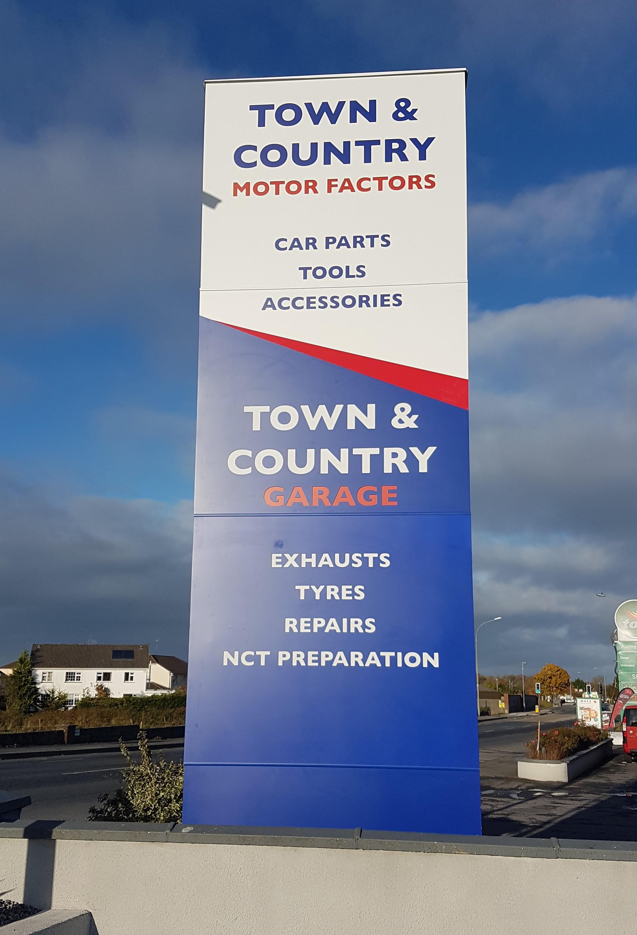 Town & Country Motor Factors, Tuam