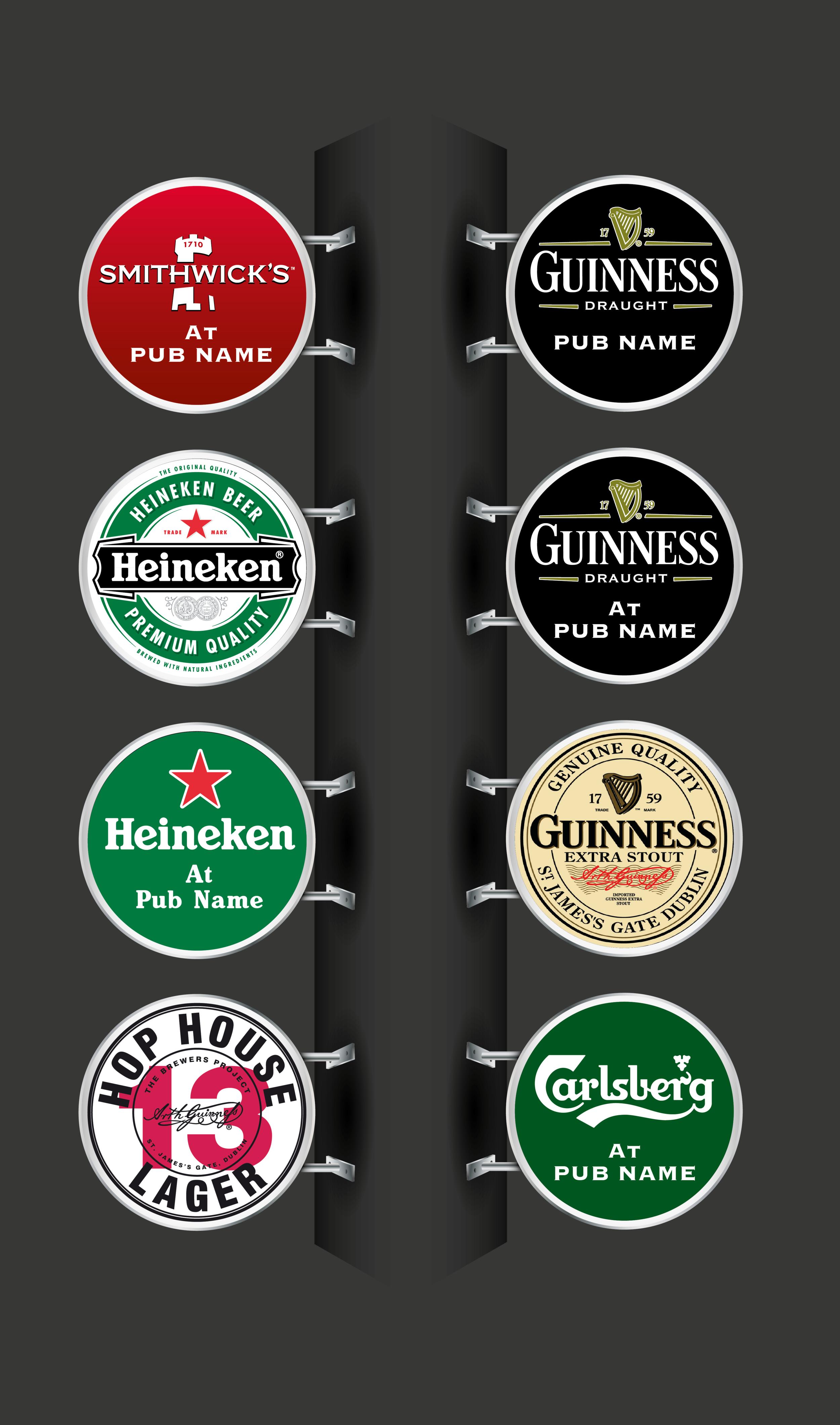 Pub Signage