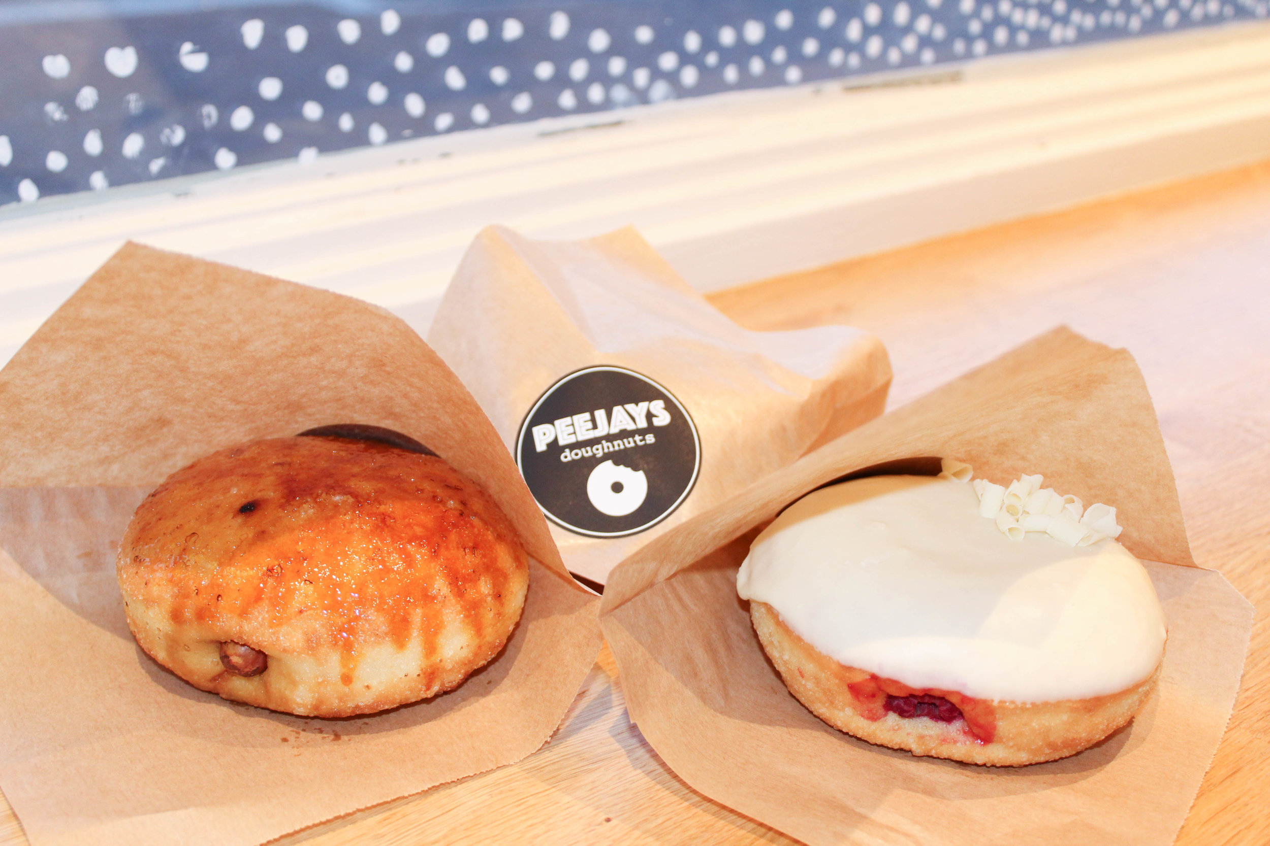 Peejay's Doughnuts - 20 flavours to crack your sweet tooth