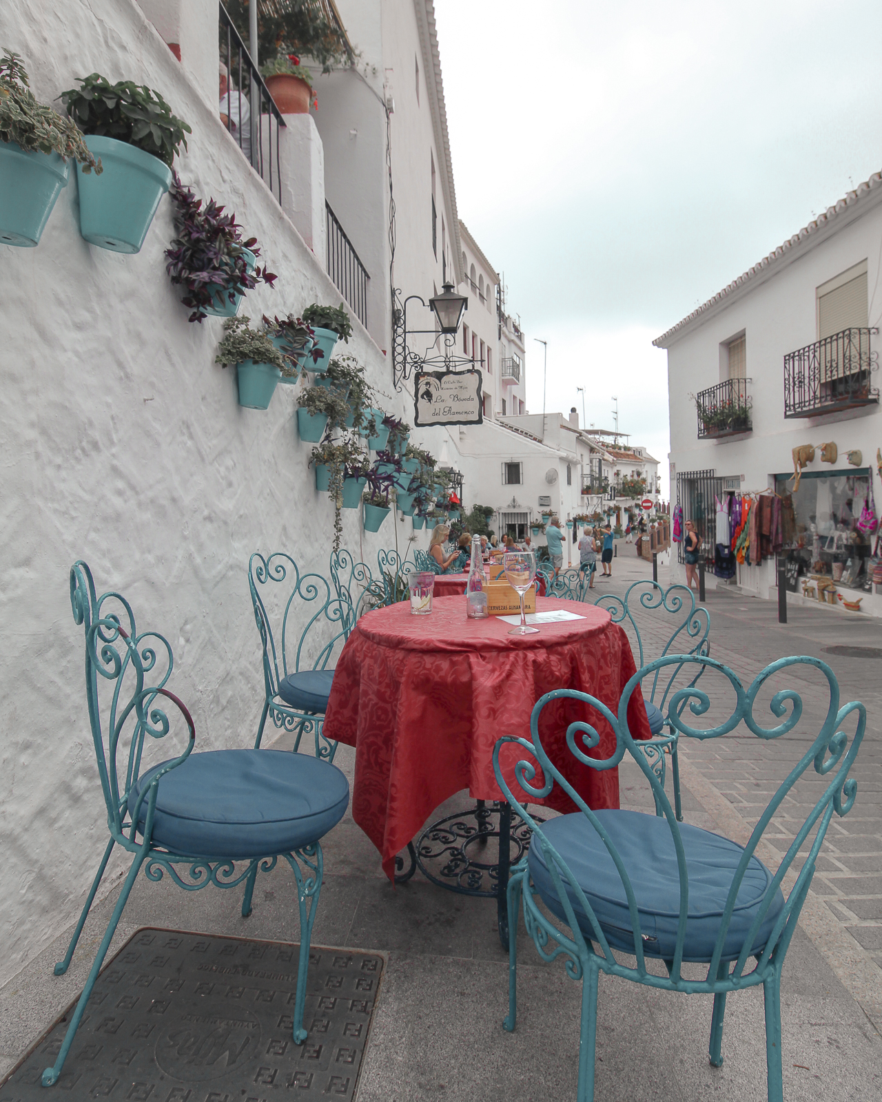 Cafes and Cappuccinos - The white clad buildings were consistent throughout the entire town. With endless terraces, cafes and potted plants. I could have spent all day just people watching and sipping an espresso!
