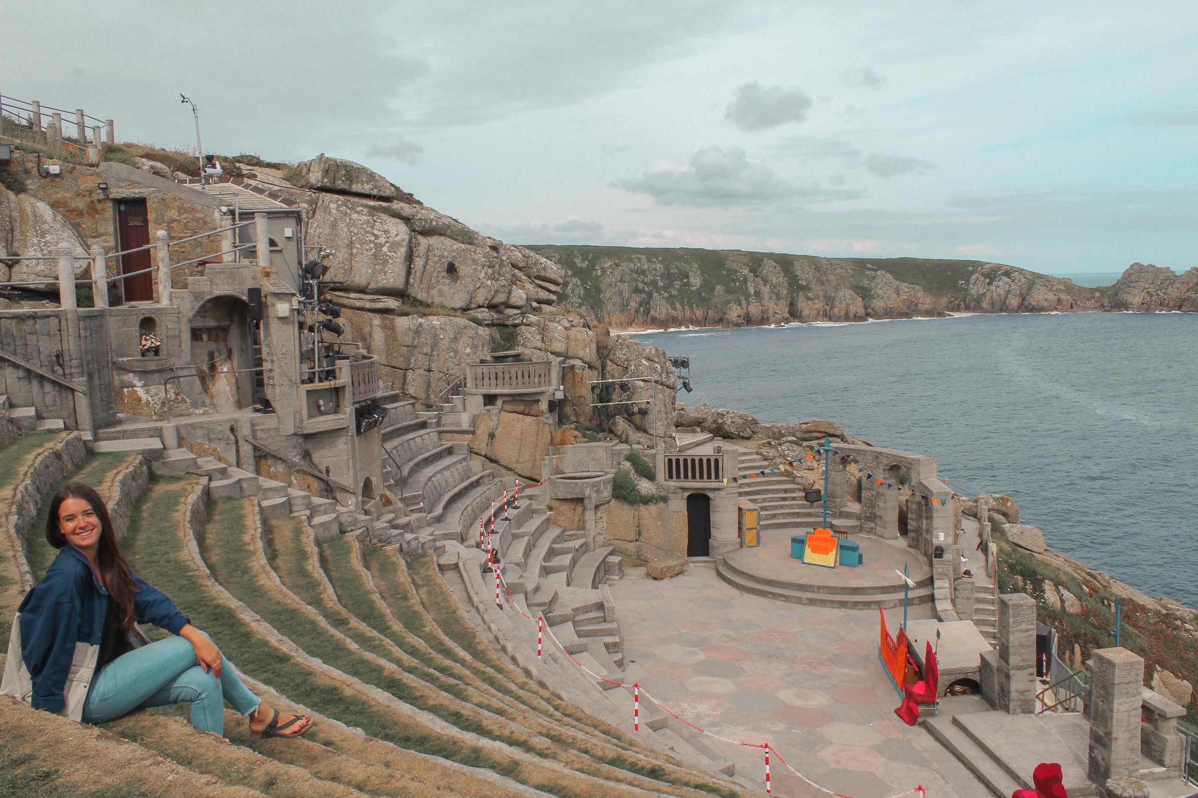 the Minack Theatre in Cornwall