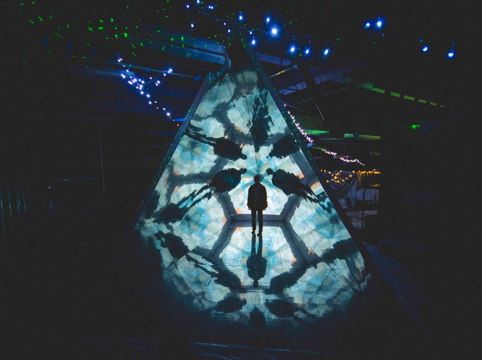 the walk-through kaleidoscope