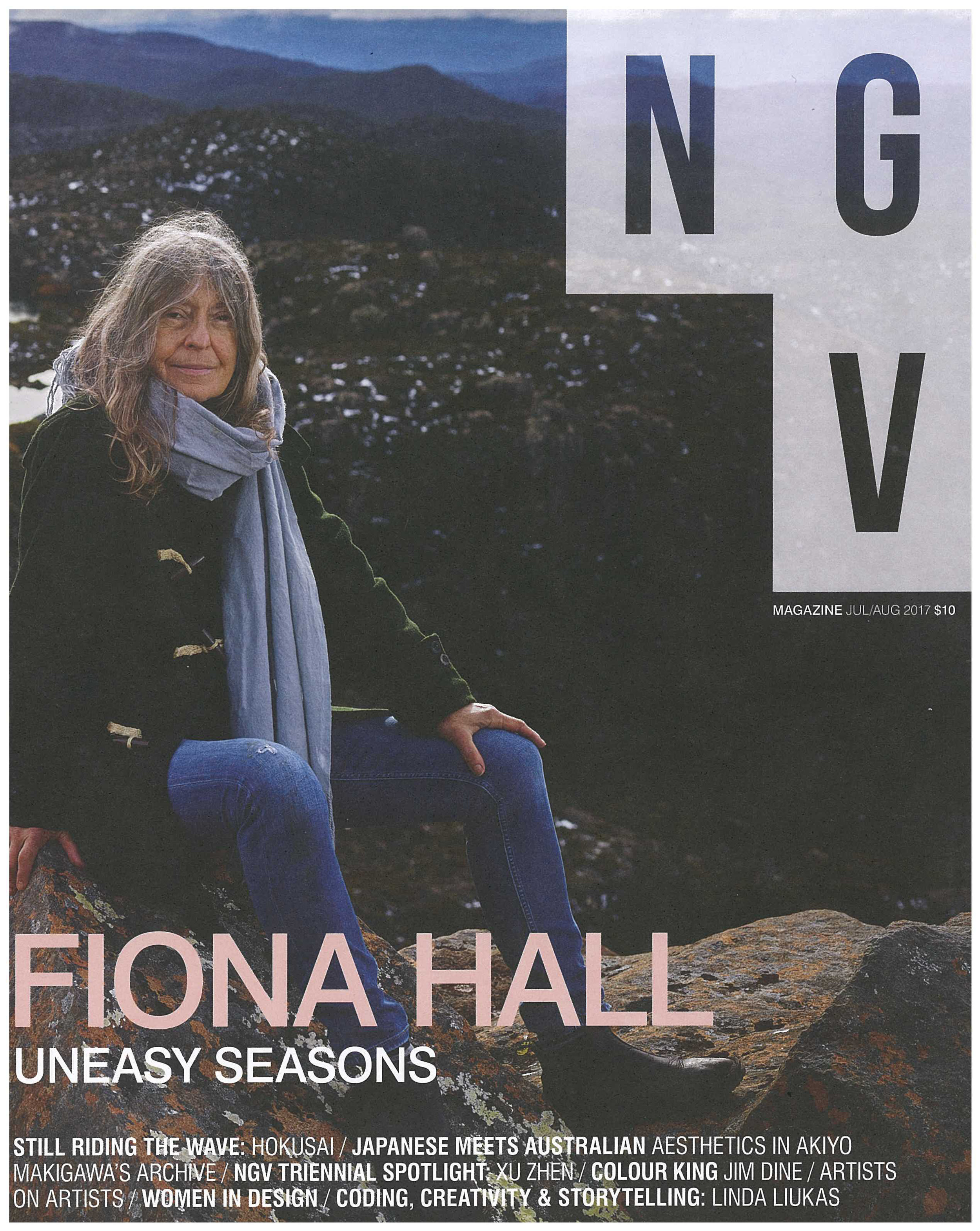 MY NGV National Gallery of Victoria,Magazine Greta Voller July/Aug Issue, p 78 - 81