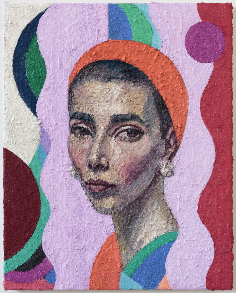 Coppersmith_Yvette_Self-portrait in Cacharel Scarf_oil on linen_51cm x 41cm_2017e_c.jpeg