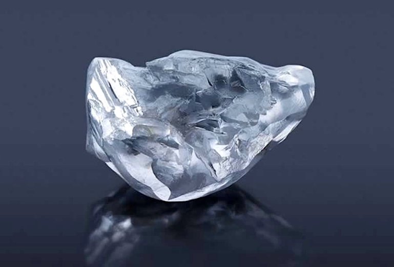 The Letšeng Legacy from the Lesotho mine rich in huge diamonds. Image  Gem Diamond Ltd