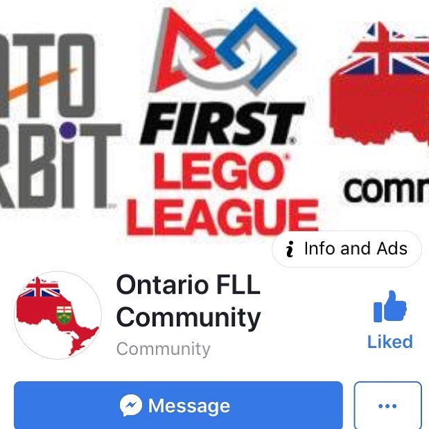 Big news everyone!!! Check out the new Ontario FLL Community on Facebook. Lots of great support for #firstlegoleague #fll teams #intoorbit #fllfamily #morethanrobots