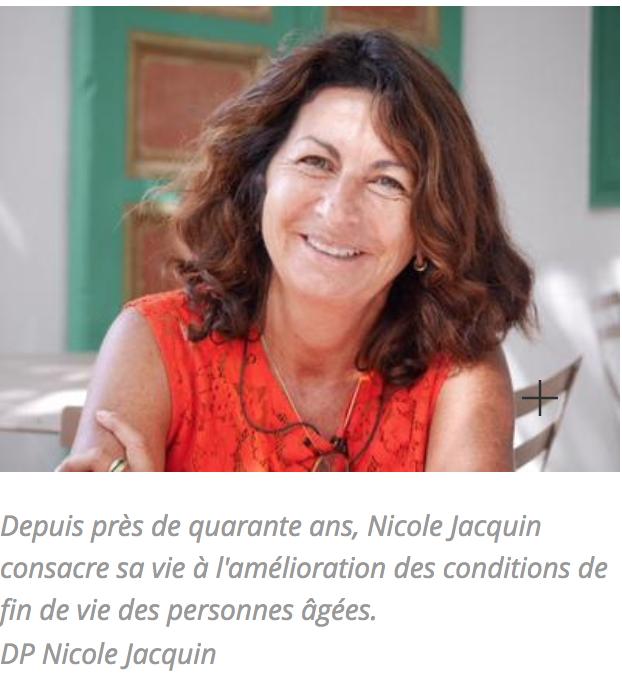 Dr Nicole Jacquin-Mourain, cofondatrice de ANGGEL'DOM, dans le Figaro Madame -