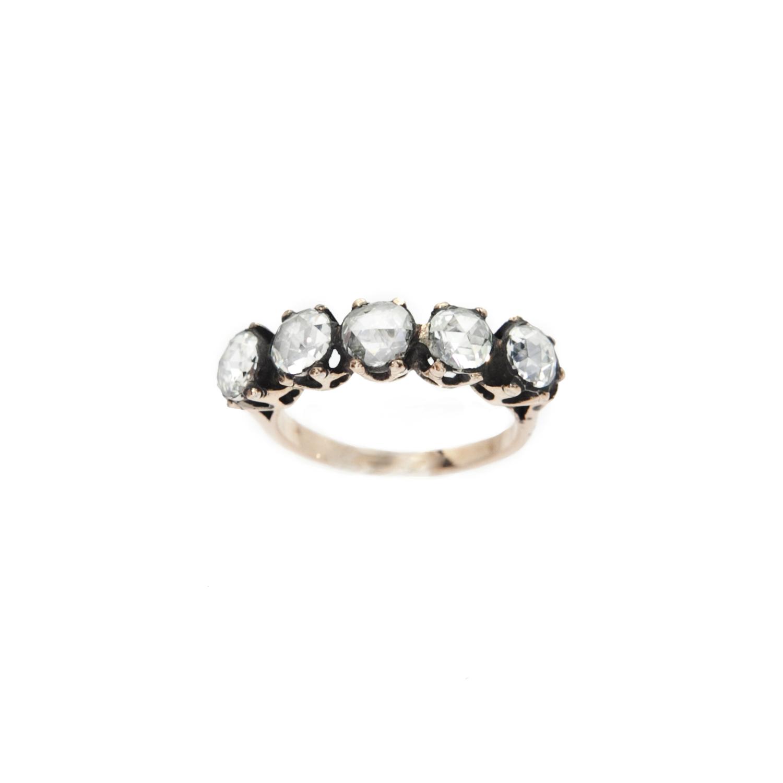 5 Stone Band , G color VS RC Diamonds
