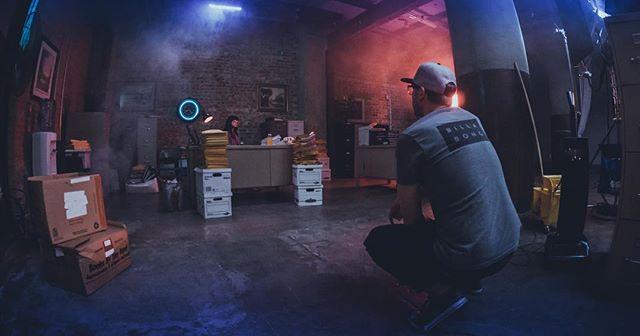 The Office #bts #setlife #arri #arrialexa #arrialexamini #kowa #kowaanamorphic #directorofphotography #director #producer #commercial #production #productiondesign #shootorigami