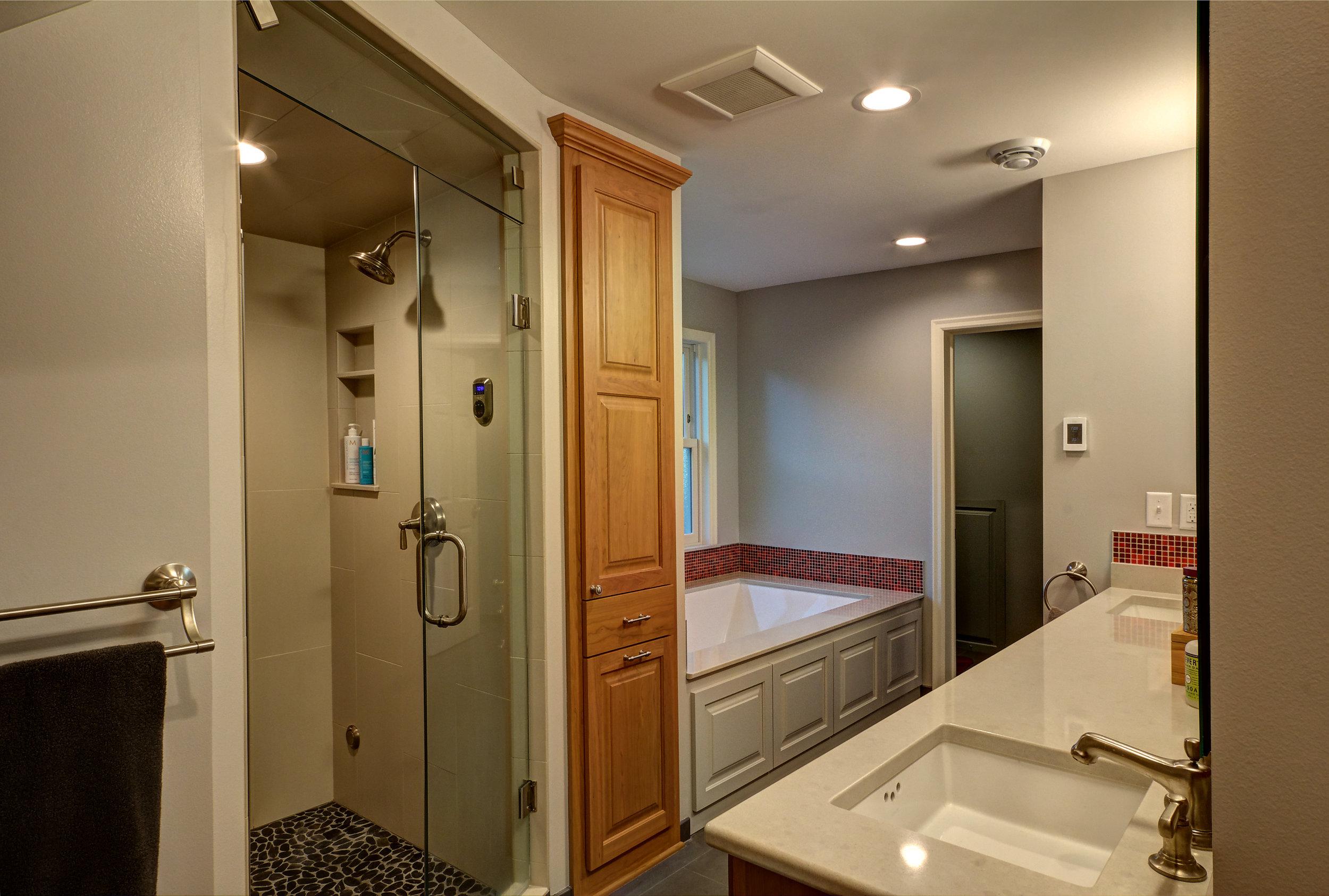 Interior Attic, Master Bath, (shower view #2).jpg