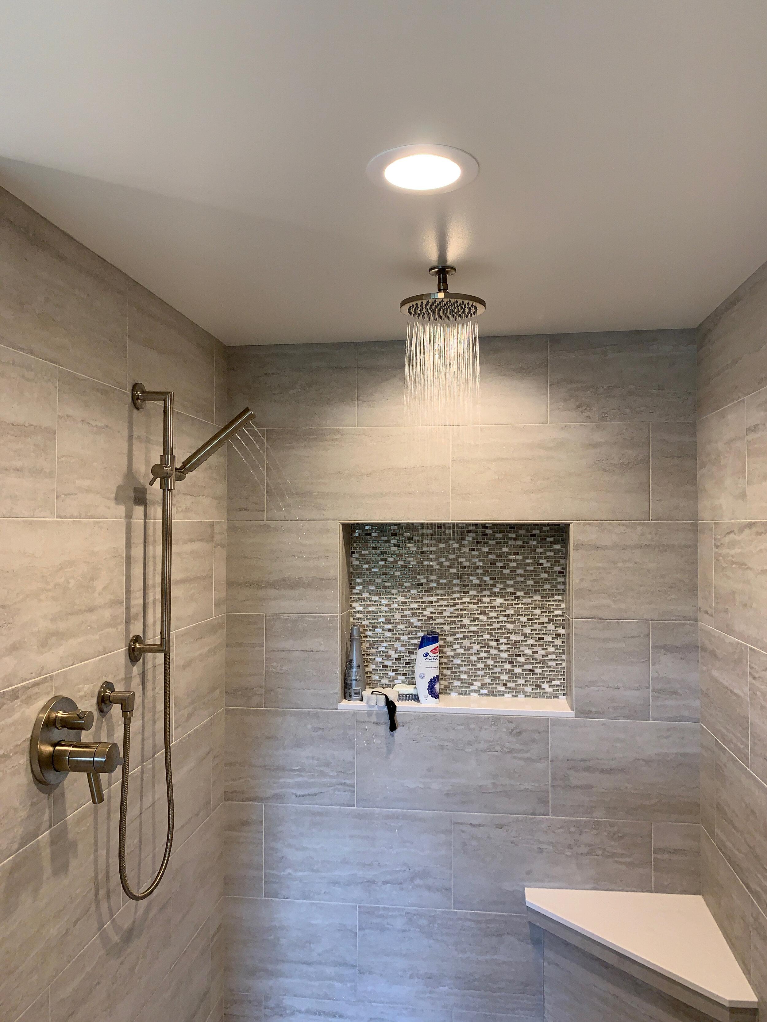 Rainshower and hand shower