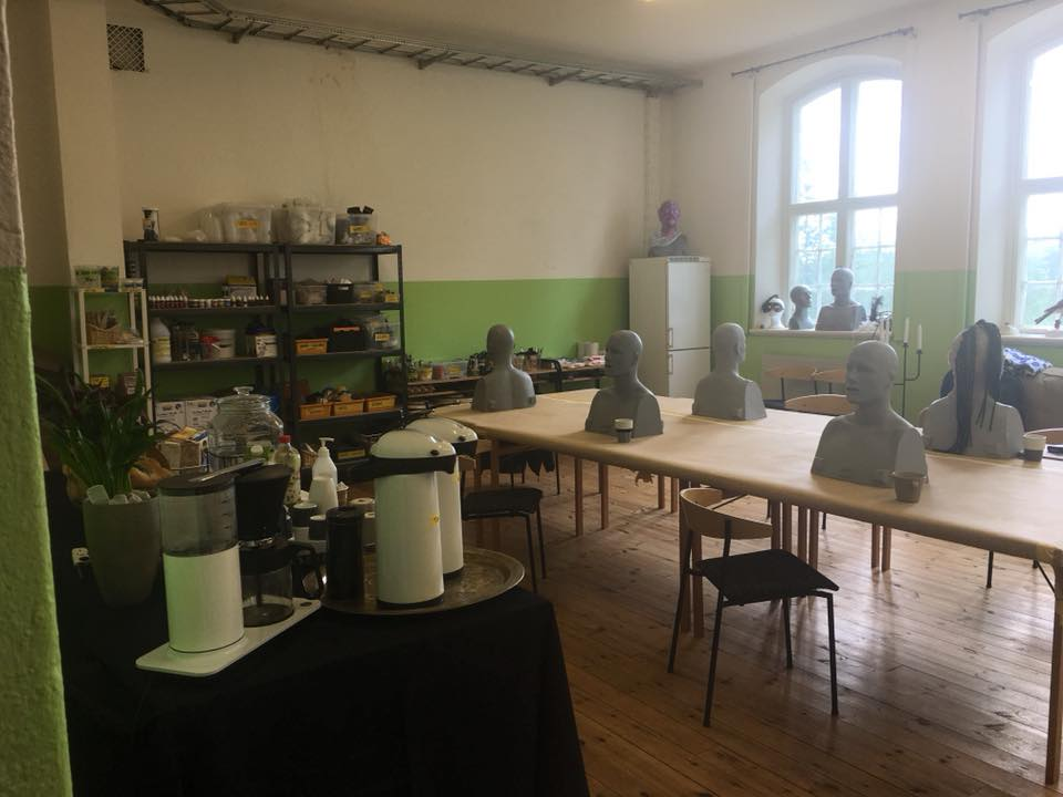 """One the """"old classrooms"""" on the first floor that is now our FX Workshop area. This room will also be renovated. This workshop area can also be used during the artist stay at the residency, based on a case to case basis depending on other creative activities going on in the house."""
