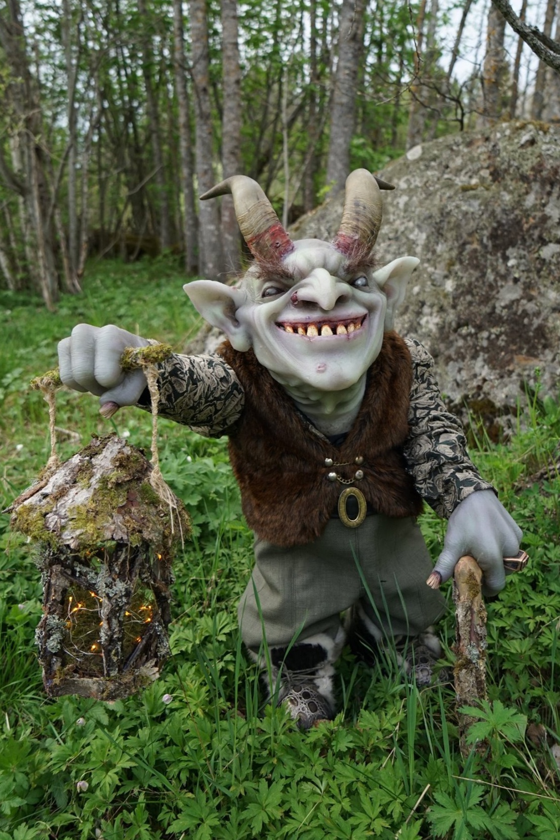 Gunnar The Goblin - Created at House of Helsinglight by students and professionals in a joint collaboration.