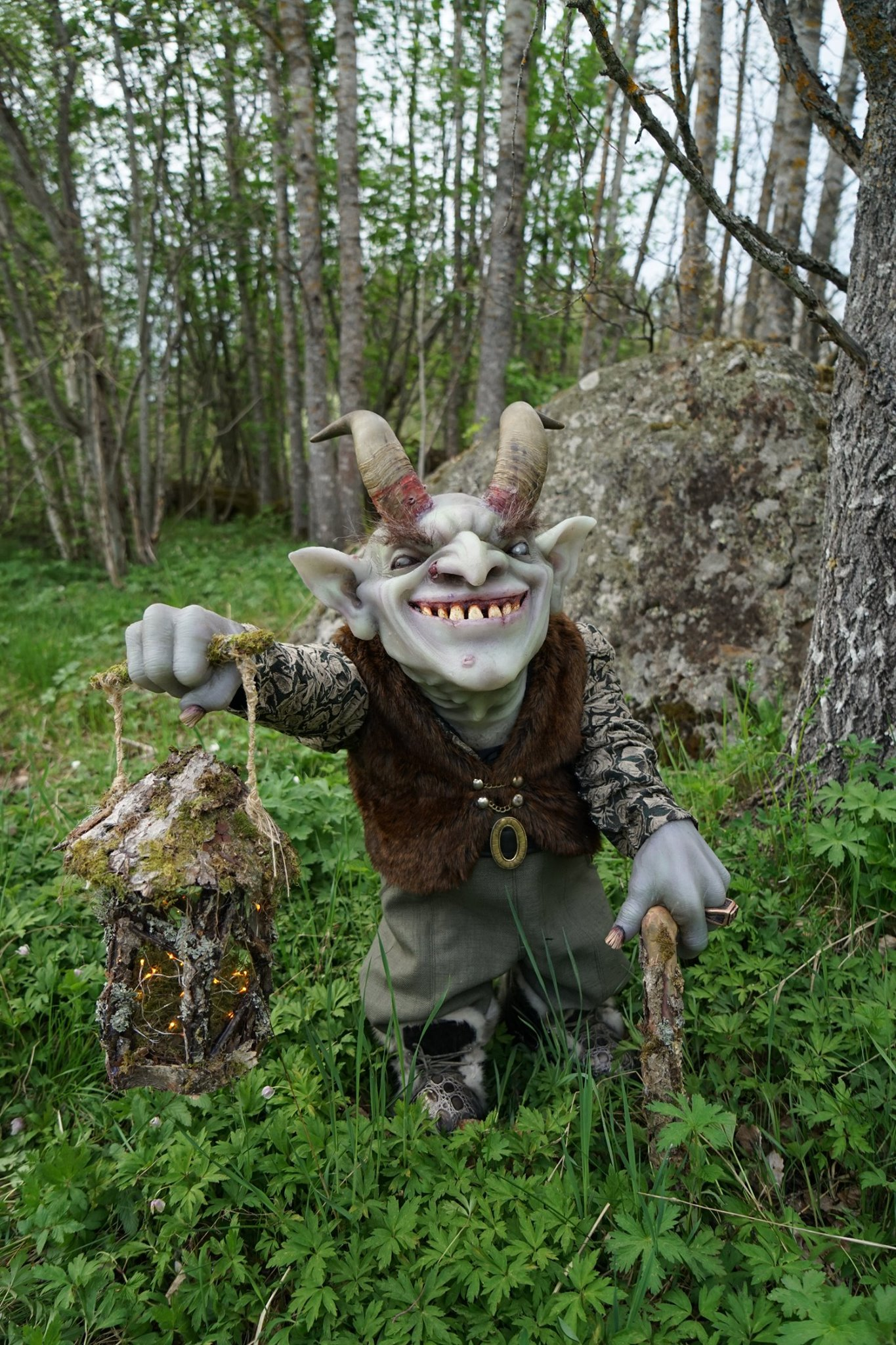 Gunnar the Goblin, created by many artists in a joint collaboration at Helsinglight FX