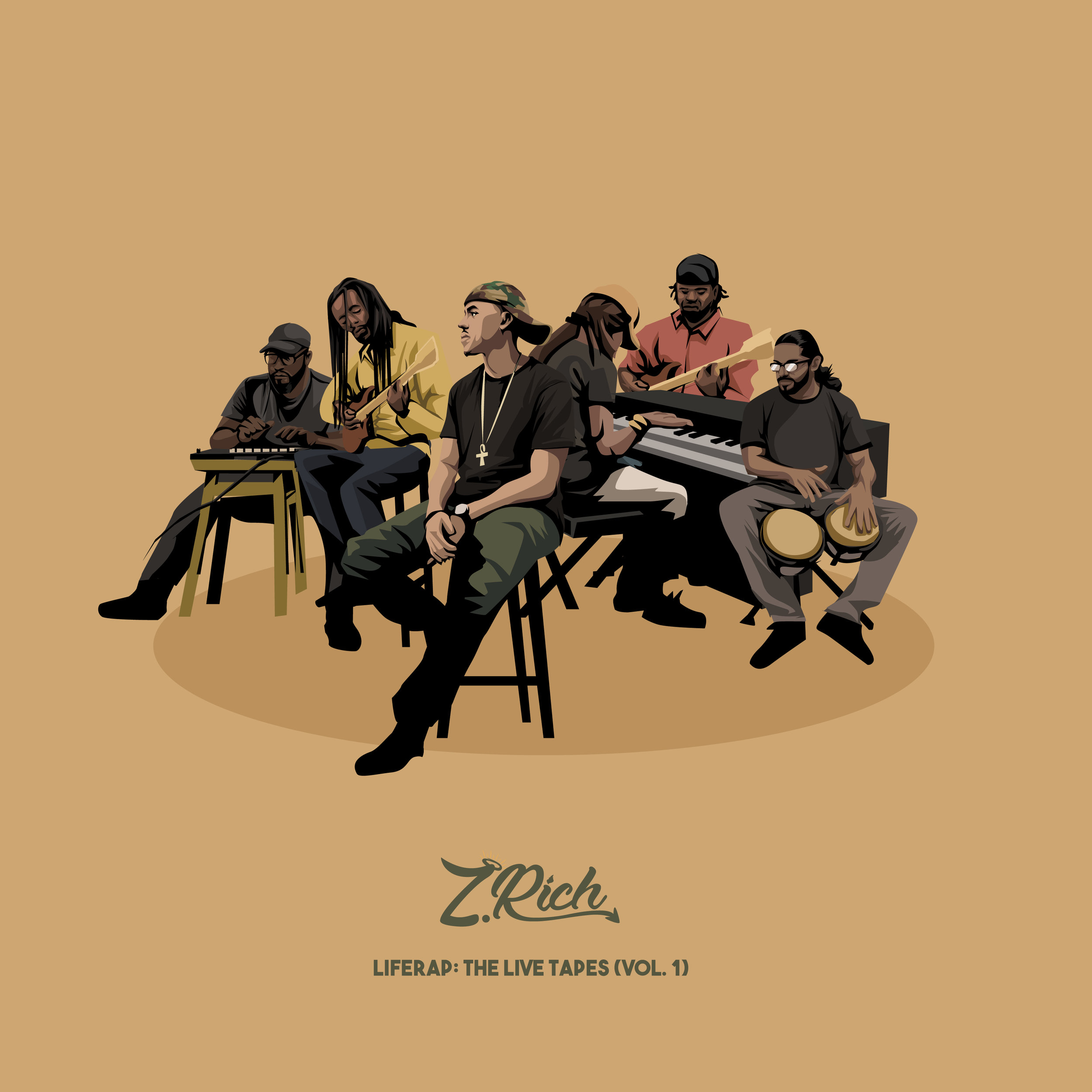 LATEST RELEASE - Z. Rich - LifeRap: The Live Tapes (Vol. 1)Backed by a Live Band, Z. Rich delivers vivid storytelling overtop of a soulful backdrop of instrumentation. Along with the 13 track LP, all of the songs were turned into video content as well, accumulating over 500k views & counting! Watch Here: