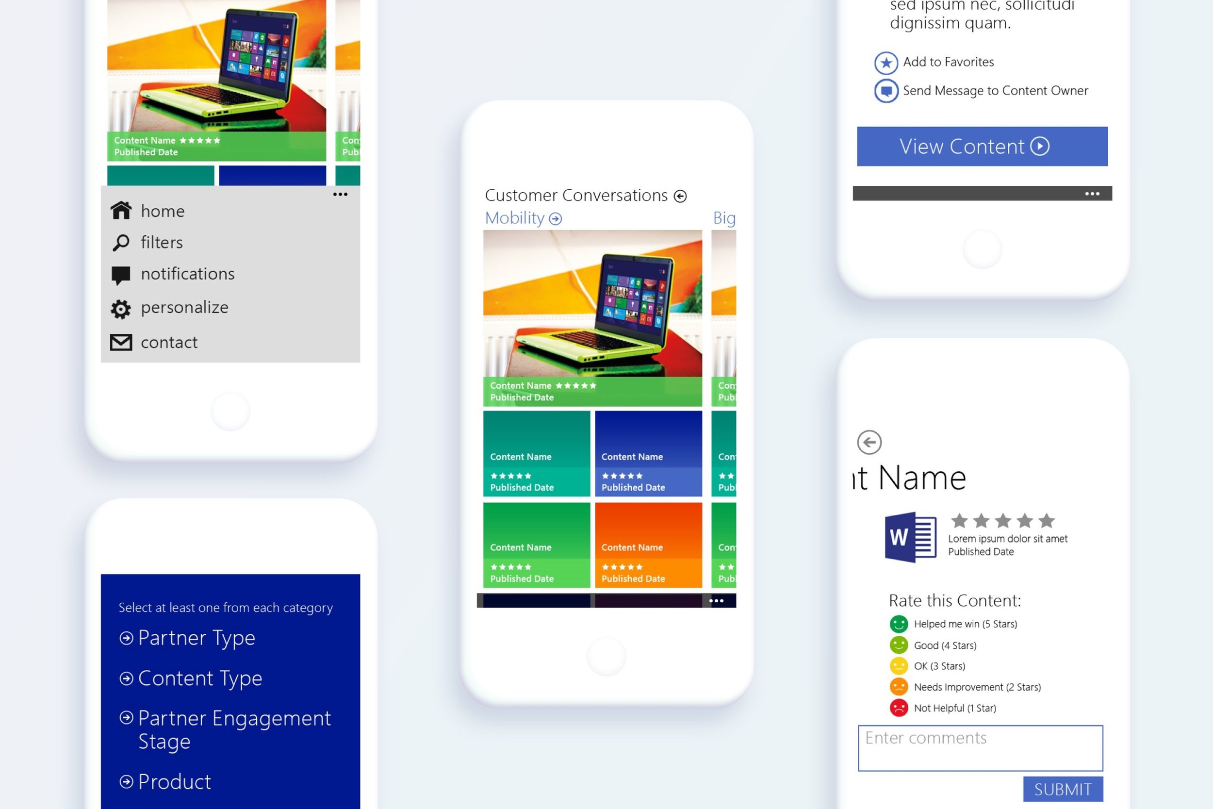 Microsoft Marketing App - Client: Windows Marketing