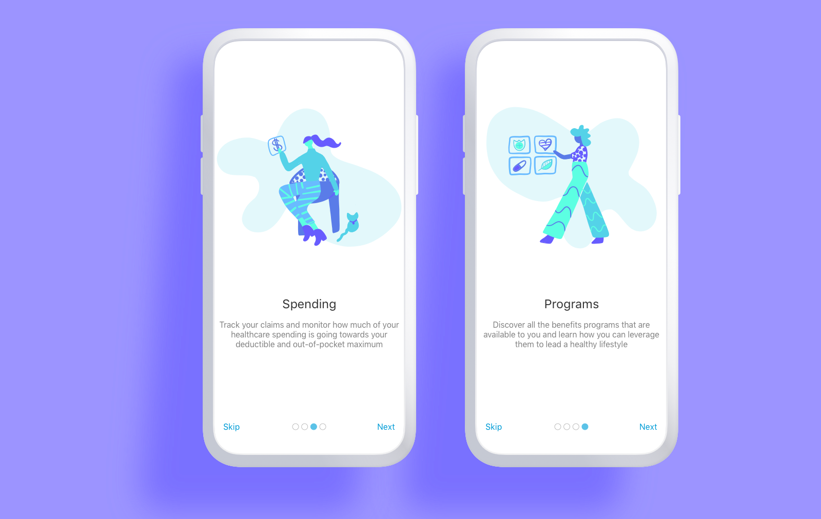 Onboarding Illustrations (Accolade) -