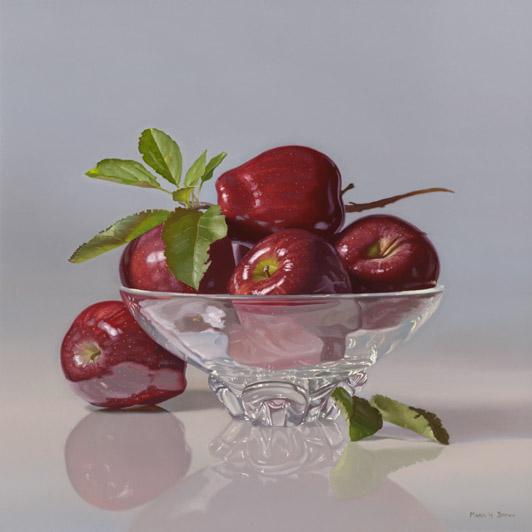Apples, 20x20