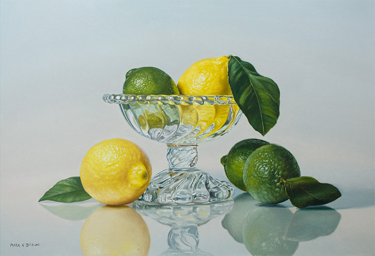 Lemons and Limes, 16x24