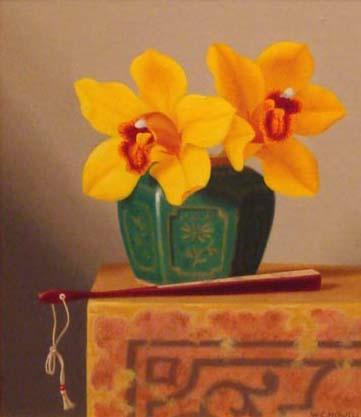 Oriental Orchids, 12x10