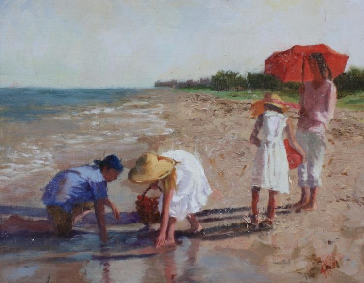 Study For The Beach, 11x14