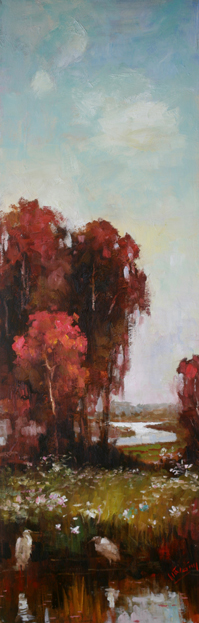 Afternoon Calm 1, 12x36