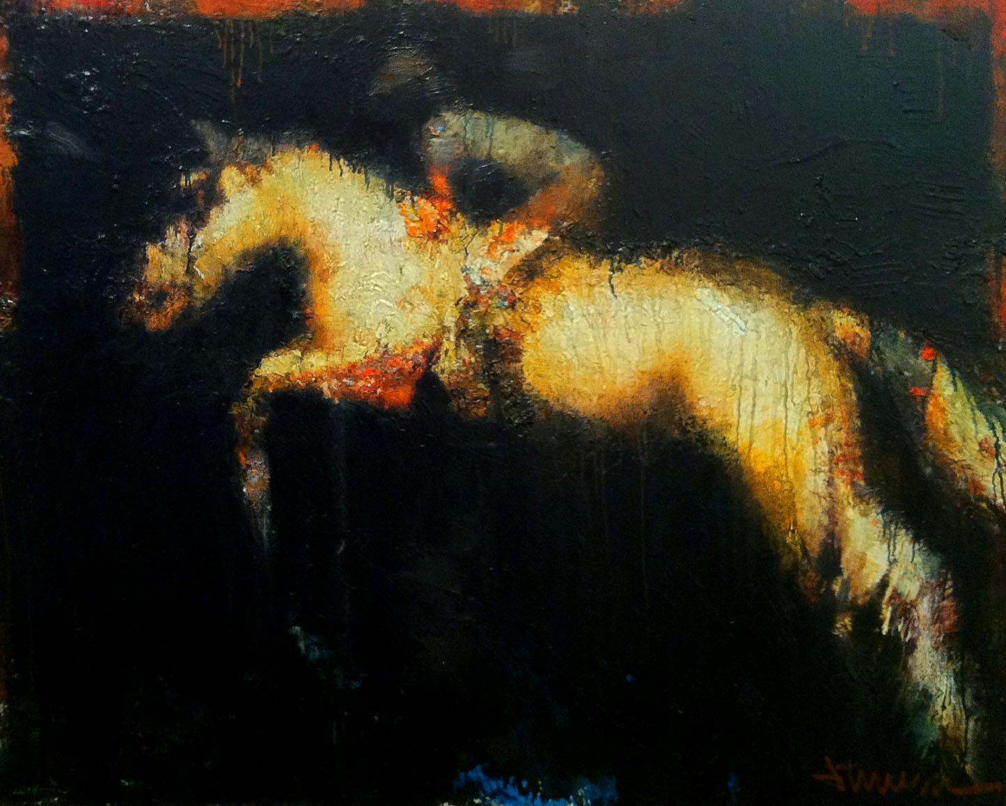 Night Jumper, 48x60