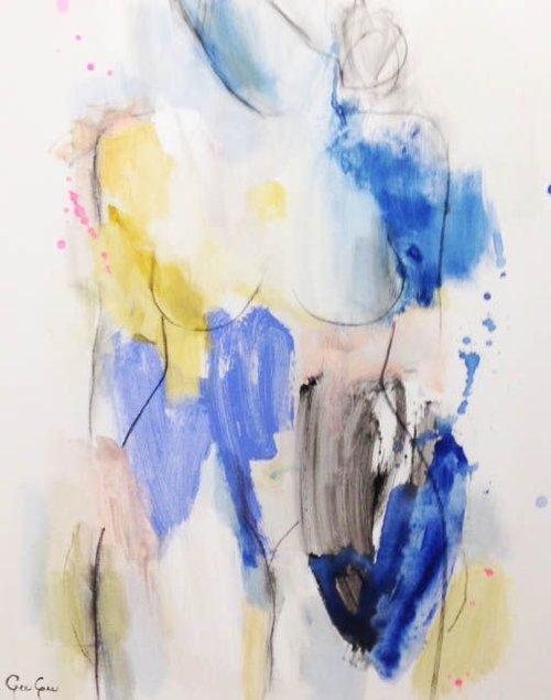 Nude II, 30x24